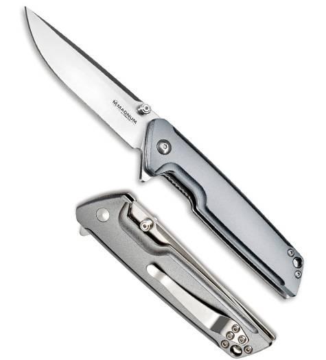 Нож Boker Magnum 01MB722 Straight Brother Aluminium купить в Москве