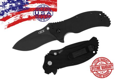 модель 0350 Matte Black Folder SpeedSafe