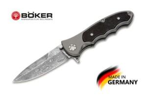 Купить нож Boker Manufaktur 110127DAM Leopard-Damascus III