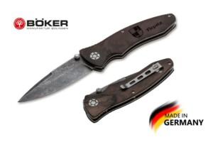 Купить нож Boker Manufaktur 110192DAM Tirpitz-Damascus Wood