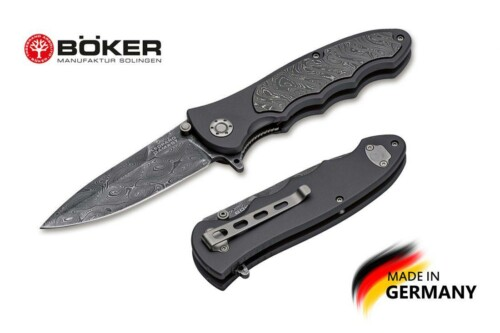 Купить нож Boker Manufaktur 110237DAM Leopard-Damascus III Collection