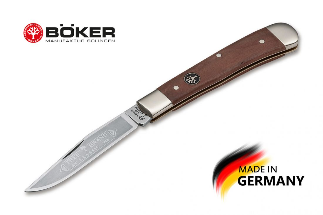 Складной нож Boker Manufaktur 112585 Trapper Plum Wood