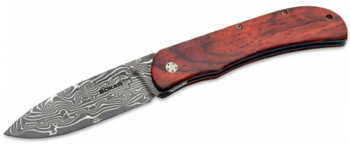 Купить нож Boker 01BO222DAM Exskelibur I Damascus Cocobolo
