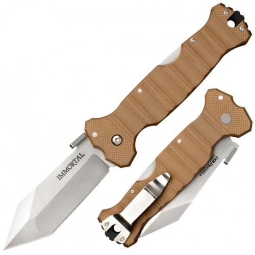 Купить нож Cold Steel 23HVB Immortal Coyote Tan