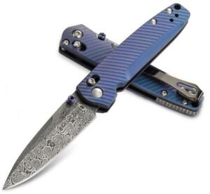 Купить Benchmade 485-171 Blue Violet Titanium с доставкой