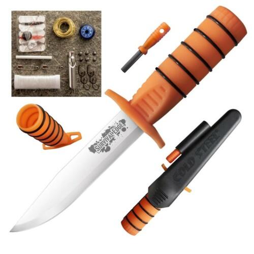Купить нож Cold Steel 80PH Survival Edge (Orange) в Москве