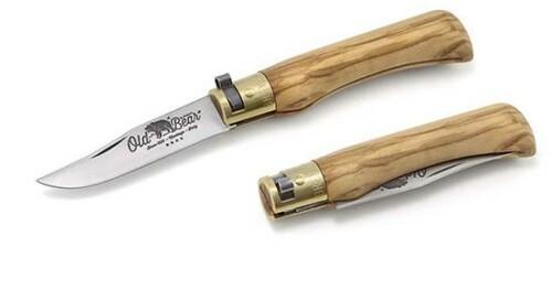 Купить нож Antonini Old Bear 930717 LU Olive Small в Москве