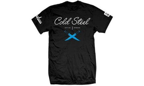 Cold Steel TJ2 Cursive Black Tee Shirt (размер M) купить в Москве