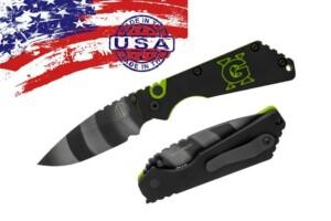 Нож Pro-Tech Strider SnG AUTO GX Custom Tiger Stripe