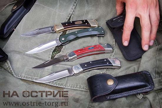 Коллекция ножей Buck 0110