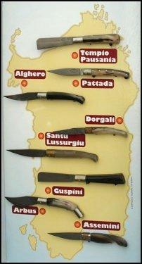 Различия клинков традиционных итальянских ножей
