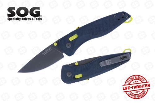 Складной нож SOG 11-41-03-41 Aegis Mk3 Indigo-Acid