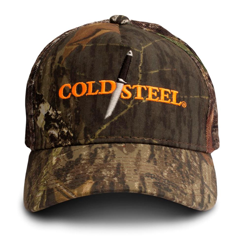 Бейсболка камуфляжная Cold Steel 94HCH Mossy Oak Hat