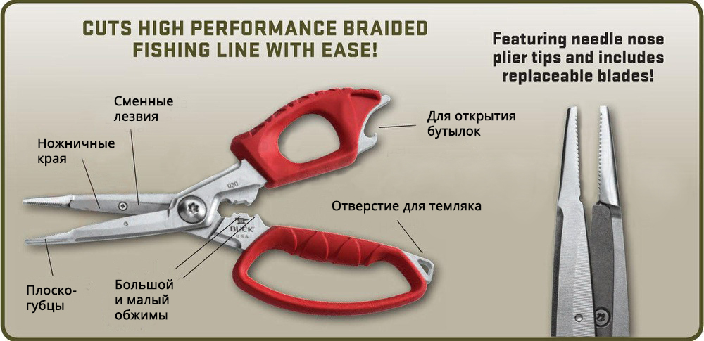 Инструмент для рыбака
