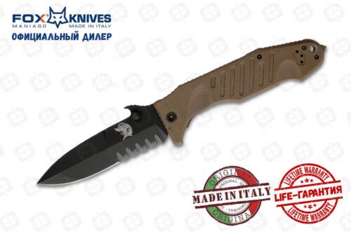 Нож FOX FX-SOK09CM01E DELTA SPECIAL OPERATION
