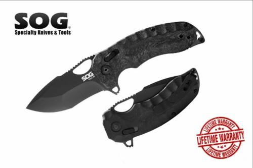 Нож складной SOG 12-27-02-57 KIKU XR Blackout