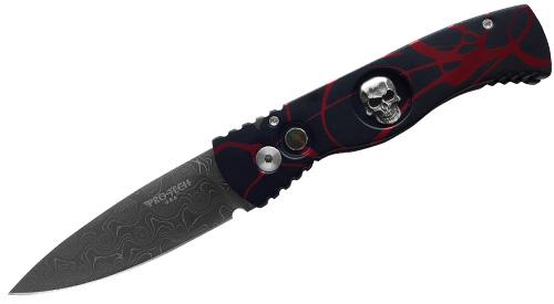 Нож Pro-Tech Skull P.K. Splash
