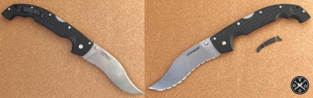 Внешний вид ножа «Col Steel Vaquero Serrated»