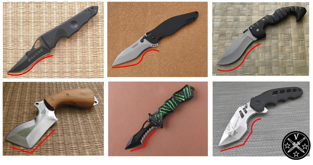 Тактические ножи с повышенным резом