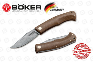 Нож Boker 111029 Boxer EDC Brown