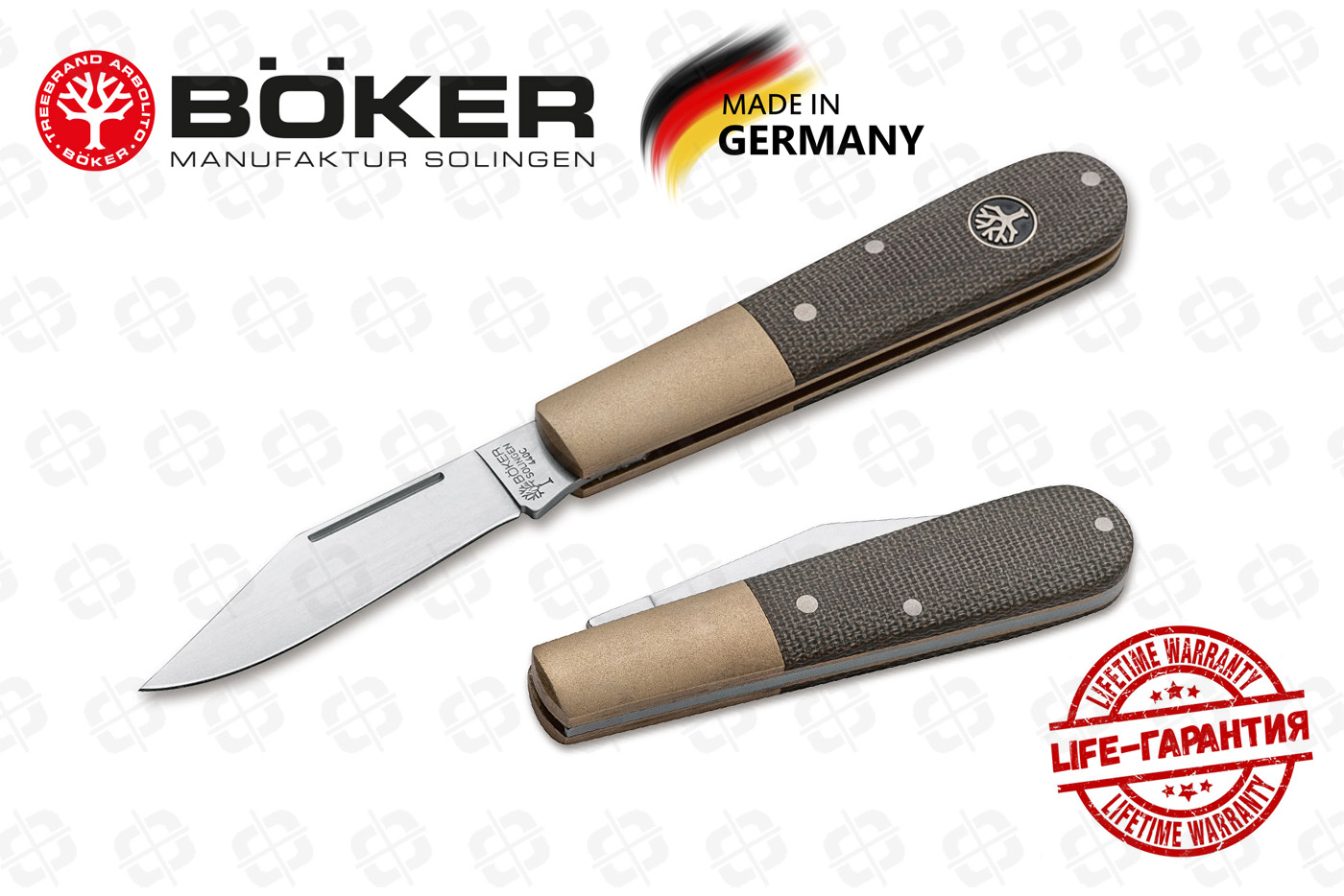 Нож Boker 112941 Barlow Expedition