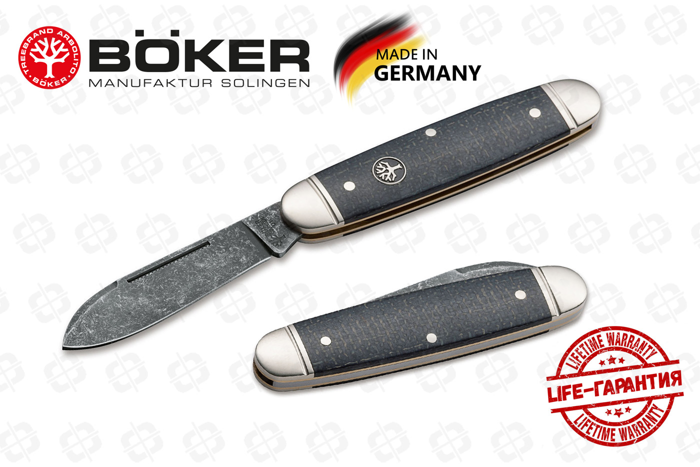 Нож Boker 114909 Club Knife Burlap
