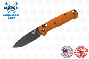 Нож Benchmade CU535-BK-M4-G10-ORG Bugout