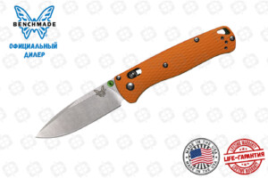 Нож Benchmade CU535-SS-20CV-G10-ORG Bugout