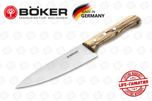 Кухонный нож Boker 131201 Tenera Chef's Medium Ice Beech
