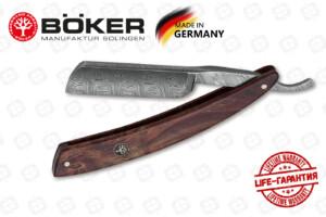 Опасная бритва Boker 140610DAM Damascus Curly Birch