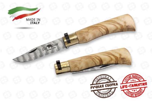 Нож Antonini OldBear 9305/19_LU Damascus М