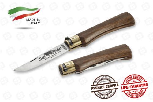 Нож Antonini OldBear 9306/21 LN Walnut Large