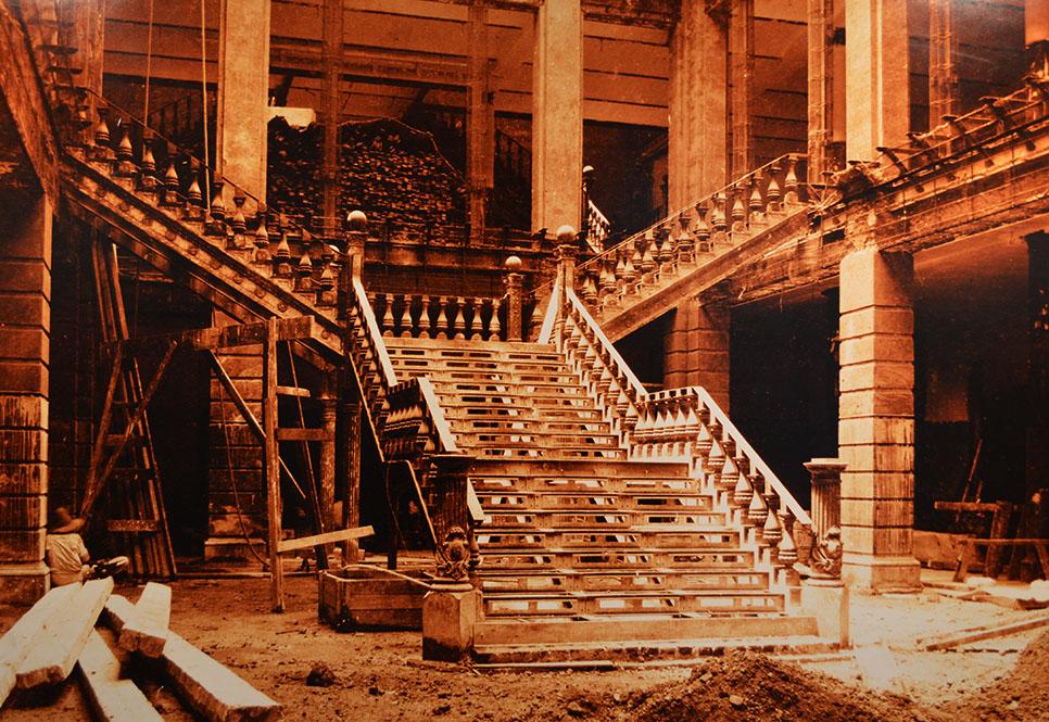 Строительство торгового центра Casa Boker