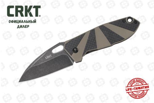 CRKT 2440 Heron Black Tan
