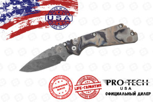 Pro-Tech 2436 Strider SnG Damascus
