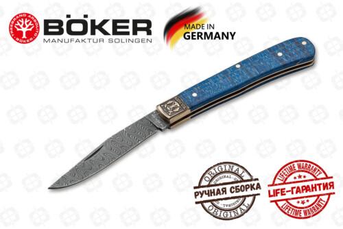 Boker Manufactur 1132021DAM Damast Jahresmesser 2021
