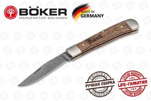 Boker Manufactur 116004DAM Trapper Asbach Uralt Damast